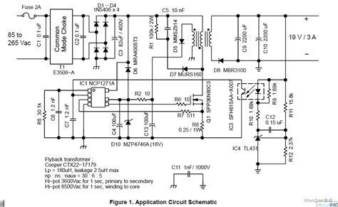 Ic L6563 Smd 电源电路电路图 ncp1271设计19v输入ac dc适配器电路图 电路图 中国百科网
