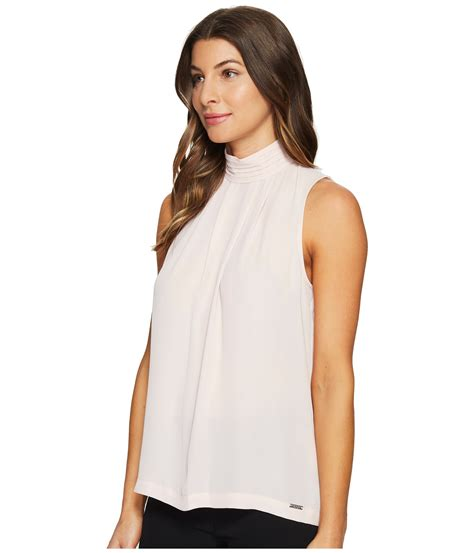 Trumpi Blouse ivanka sleeveless georgette woven blouse at zappos