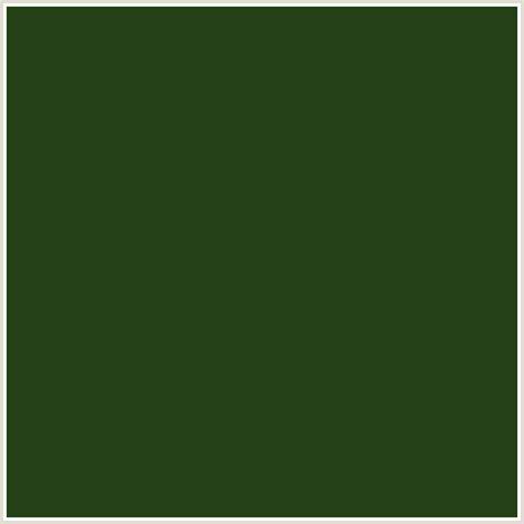 seaweed color 254117 hex color rgb 37 65 23 green seaweed