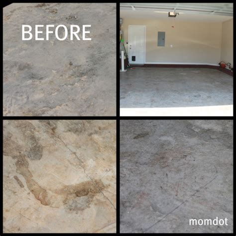 How to refinish your Garage Floor