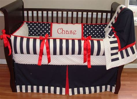 Navy And White Crib Bedding by 17 Best Images About Baby Boy Bedding Sets On
