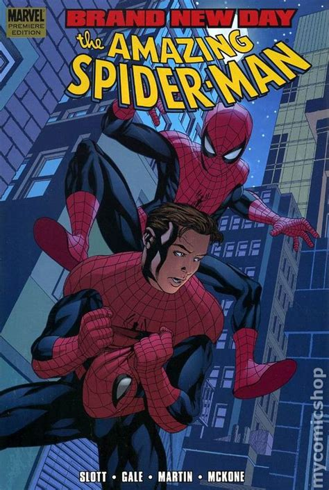 spider man blue hc amazing amazing spider man brand new day hc 2008 marvel comic books