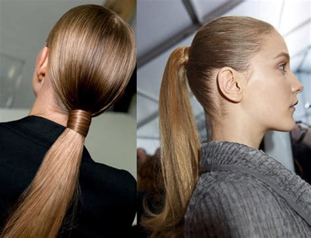 gel ponytail hairstyles low ponytail hairstyles the vandallist