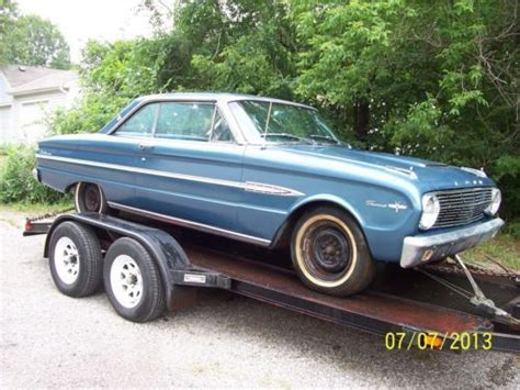 automotive air conditioning repair 1963 ford e series parking system sell used 1963 ford falcon sprint 2 door hardtop 1963 1 2 v 8 auto in storage 20 years in paola