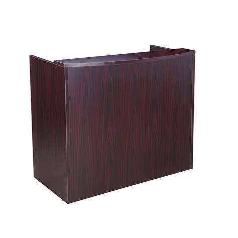 ebay reception desk reception desk ebay mocha finish reception desk with