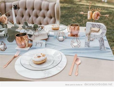 tendencias en detalles para bodas en 2018 wedding day mesas y salones archivos decoraci 243 n bodas