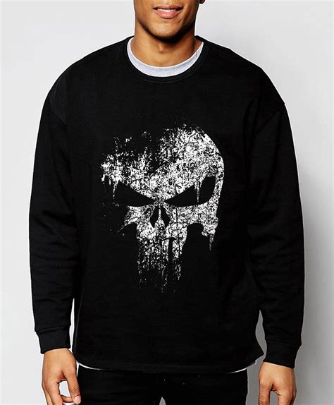 Sweater Hoodie The Puniser Best Clothing the punisher skull fashion sweatshirt supper new autumn winter cool hoodies hip hop