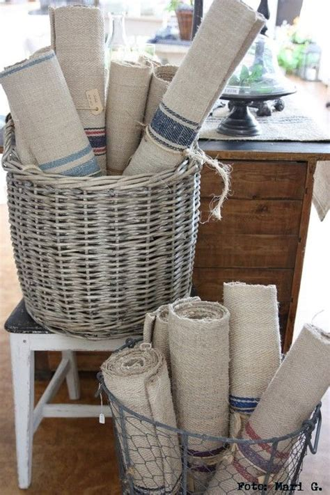 what is a french wired l french grain sacks are perfect for beach living l e b e