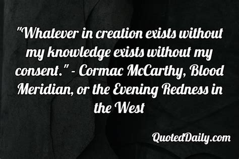 cormac mccarthy quotes the 25 best cormac mccarthy quotes ideas on