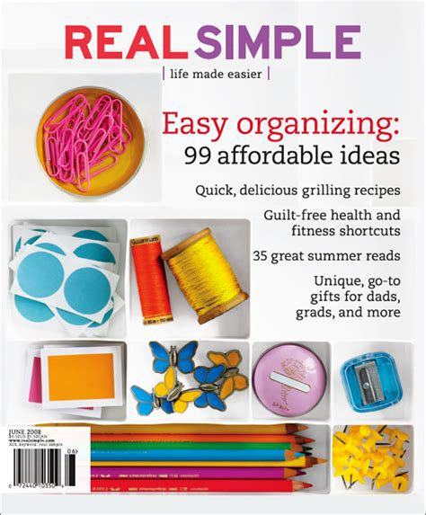 real simple magazine real simple 1 year amazon com magazines