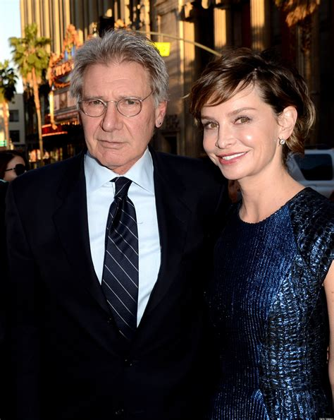 Harrison Ford And Calista Flockhart Are Engaged by Harrison Ford Calista Flockhart Shine At The Premiere Of