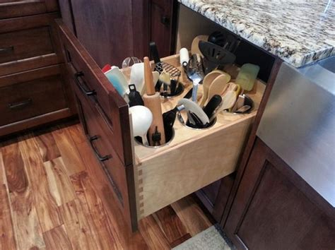 Kitchen Utensil Organizer - kitchen makeover 28 kitchen amenities you ll wish you already had