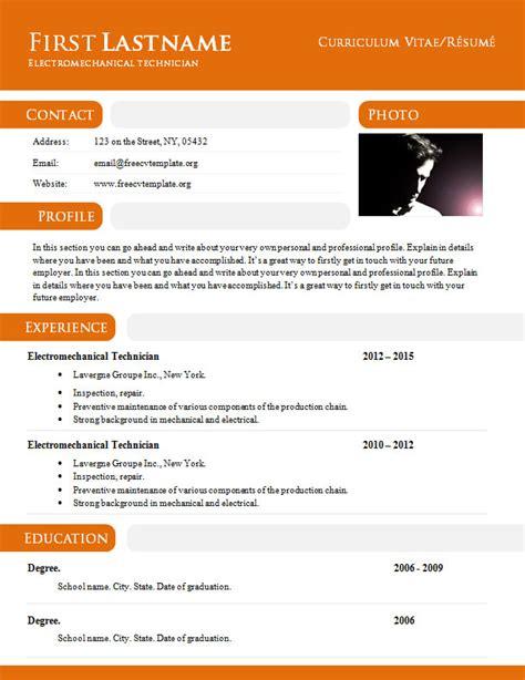 Resume Format Doc For Marriage curriculum vitae r 233 sum 233 template in doc format 897 903