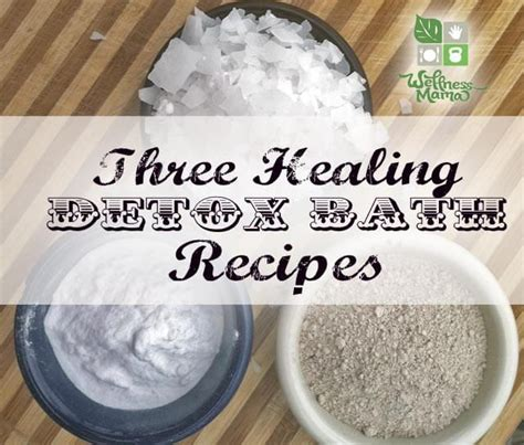 How Does It Take To Detox Parabens by 25 Best Ideas About Detox Bath Recipe On