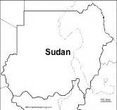 South Sudan Map Outline by Outline Map Printouts R S Enchantedlearning