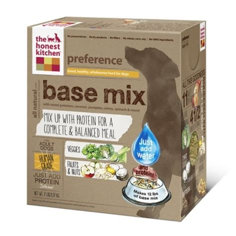 the honest kitchen food the honest kitchen preference dehydrated food base mix naturalpetwarehouse