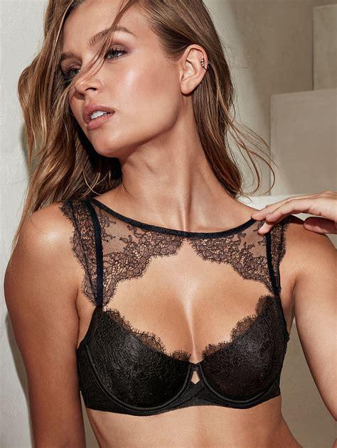 secret bra s secret chantilly lace high neck demi bra black