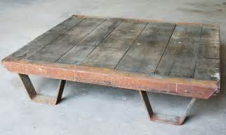 Vintage Industrial Coffee Table Vintage Industrial Coffee Table Pallet Industrial
