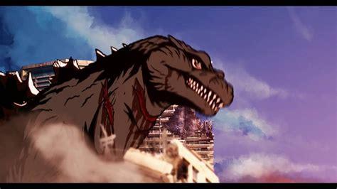 film vs anime godzilla quot anime quot short preview アニメのゴジラ プレビュー fanmade