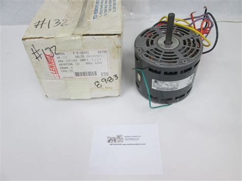 emerson blower motor emerson lennox p 8 10431 32909 blower fan motor 1 2 hp
