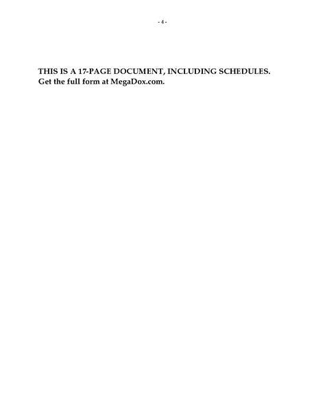 Shopping Center Property Management Agreement   Legal