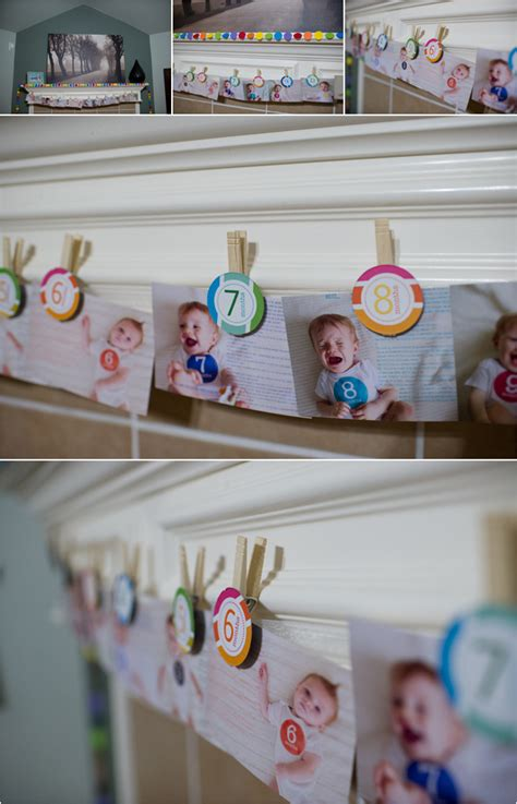 Birthday Party Decoration At Home how to display photos kelly garvery click it up a notch