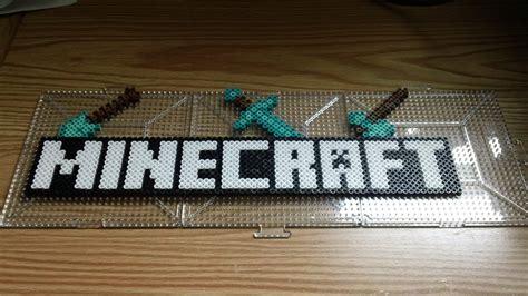 minecraft perler jacob s minecraft birthday ideas on