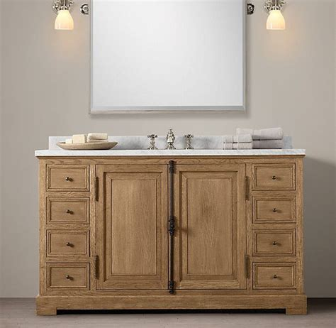 Makeup Vanity Restoration Casement Wide Single Vanity Sink 55 Quot W X 23