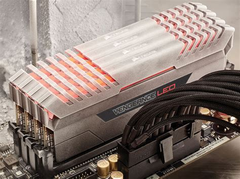 ddr4 ram with led lights corsair launches vengeance led ddr4 performance memory