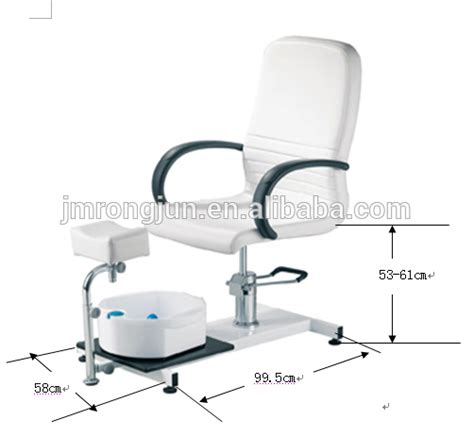 professional used footbath spa pedicure chair no
