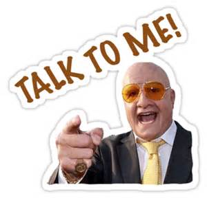 quot talk to me terry tibbs quot stickers by sharmo redbubble