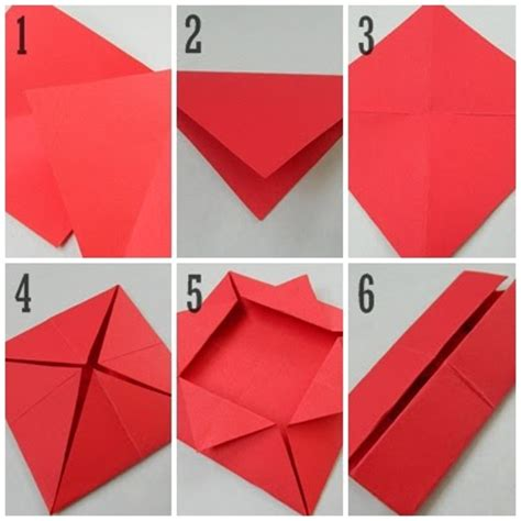 Make Boxes Out Of Paper - paper pendulum miniature paper boxes