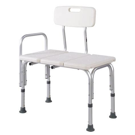 Shower bath seat medical adjustable bathroom bath tub transfer bench stool chair ebay