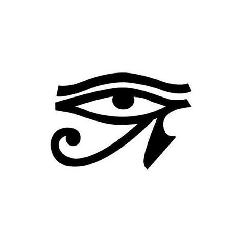 egyptian eye tattoo eye liked on polyvore tattoos