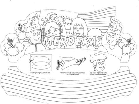 malaysia coloring pages   print