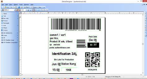 label design application zebra create zebra printer barcode label design by zubairdilshad