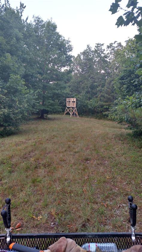diy deer shooting blind myoutdoorplans
