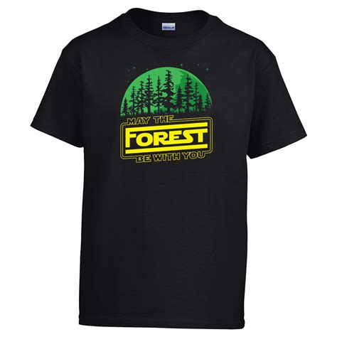 You T Shirt may the forest be with you t shirt youth sleeve gogoodspree