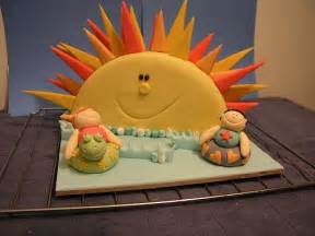 sommerliche kuchen summer sun cake a colorful summer cake i made for the