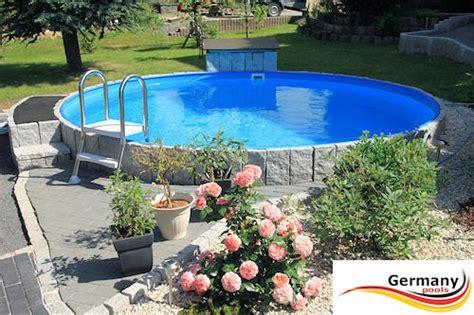 Garten Hang Ideen 3768 stahlwandbecken pool 5 00 m x 1 35 m set