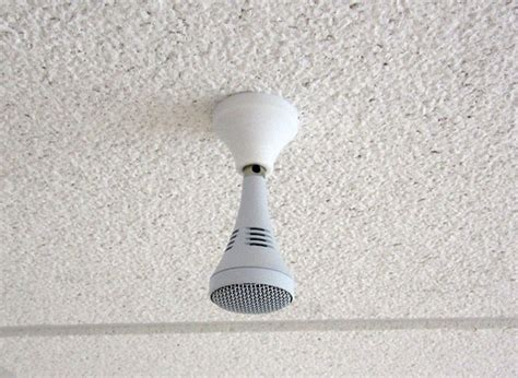 Ceiling Microphone by Technology Equipped Room Listing