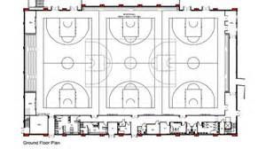 Basketball Floor Plan by Leicester Riders Central Itv News