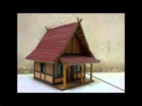 membuat rumah adat dari kardus inilah 20 contoh cara membuat rumah adat dari kardus