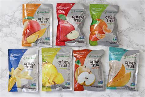 Crispy Green Freeze Dried Fruit Crispy Green Crispy Fruit Giveaway With Our Best