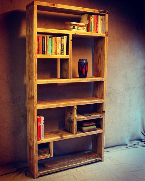 Bookshelf Handmade - reclaimed wood bookcases ideas and inspiration