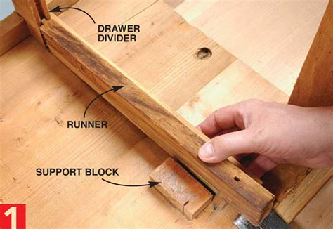 How To Fix A Broken Drawer Track by Aw 6 12 14 Restore A Chest Of Drawers Popular