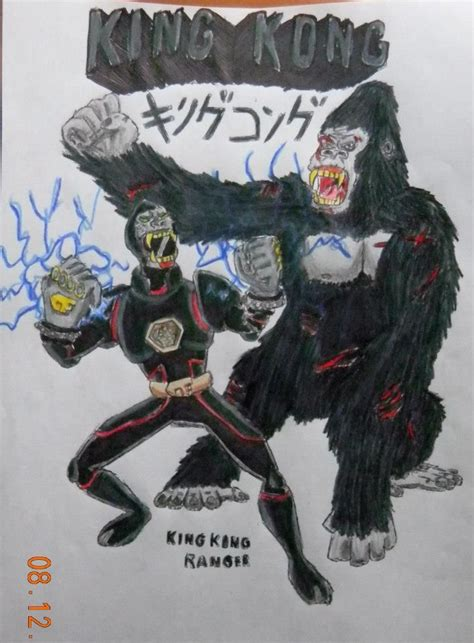 Tas Ransel Power Rangers Seri 8315 B king kong ranger by bozzerkazooers deviantart on deviantart myths lores and so much