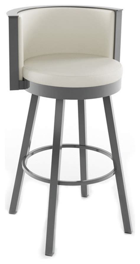 Curved Back Counter Stool by Stylish Curved Backrest Swivel Stool Modern Bar Stools