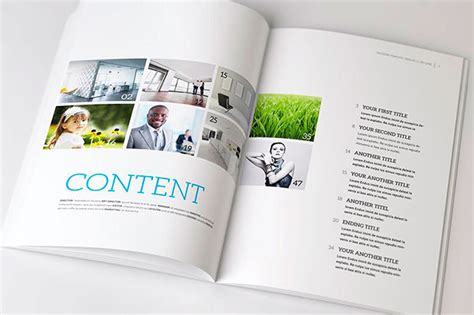 magazine page design psd free download