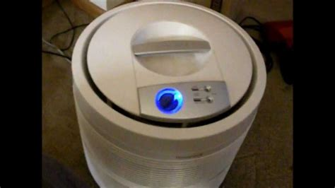 honeywell    pure hepa  air purifier cleaning  short review youtube